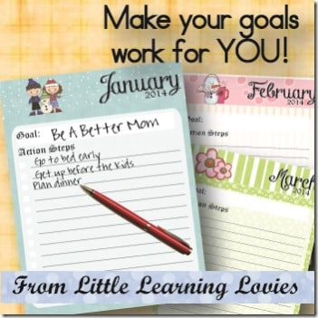 Make Your Goals Work For YOU!  Tutorial and Freebie