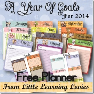 "Free ""Year Of Goals"" Goal Planner"