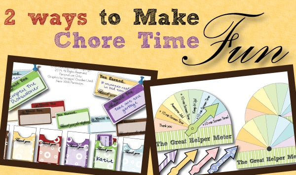 Chore-Time-Printables-To-Make-Chores-Fun