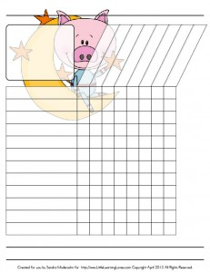 Reward Charts_Piggies In Space Theme_LLL-02