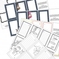 8 Page Mini Book Templates from Little Learning Lovies