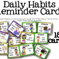 Daily Routine Helper Cards {FREE!}