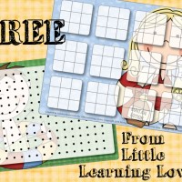 Tic-Tac-Toe!  A Freebie For You!