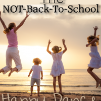 The NOT-Back-To-School Happy Dance
