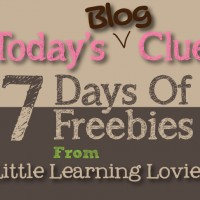 Todays 7 Days Of Freebies Clue (Fri. Sept 12th)
