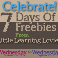 7 Days Of Freebies!