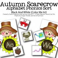 Autumn Scarecrow Fun {New}