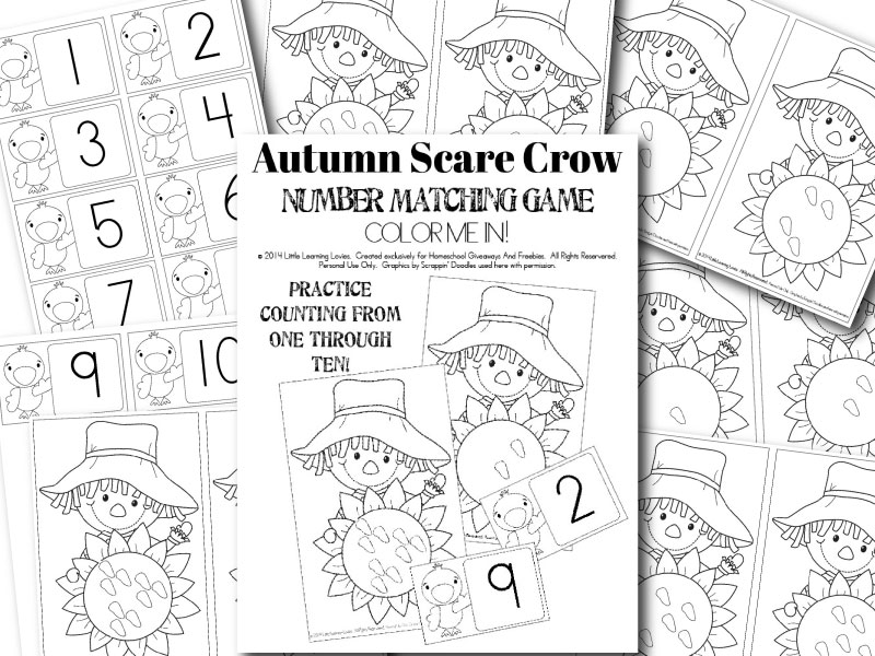 Autumn-Scarecrow-Number-Match-Game-SAMPLE