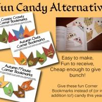 A Candy-Free Halloween Treet!