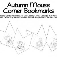 FREE — Try Our Corner Bookmarks!