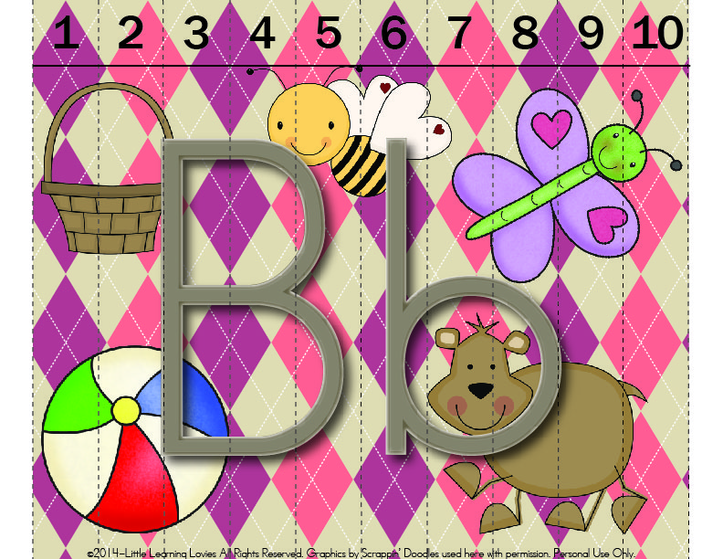 Free Printable Sounds Of B Puzzle