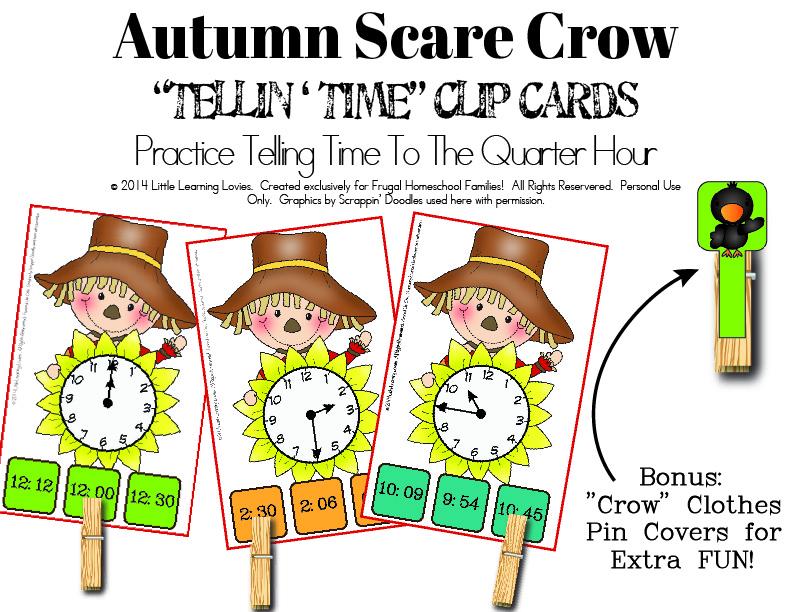 FHF-LLL-AutumnScareCrow-TellingTime-ClipCards-QuarterHour-01