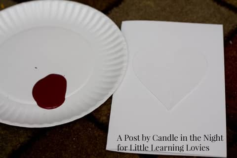 Make these Handpainted Valentine's Cards with your kids and give something grandma and grandpa will love!