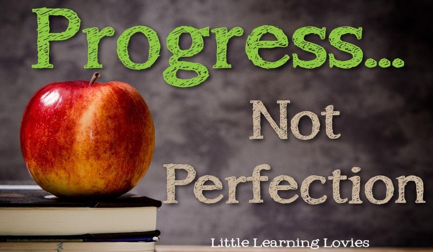 ProgressNotPerfectionLLL2015