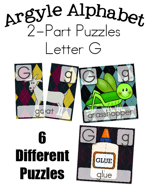 612 x 792 jpeg 812kB, Letter G Two Part Puzzles - Page 2 of 2 - Little ...