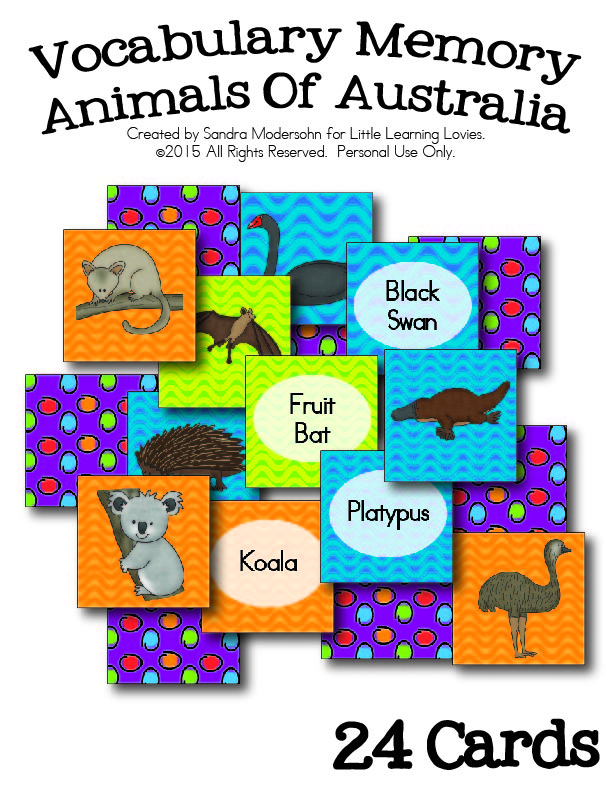 VocabularyMemory-AnimalsOfAustralia-LittleLearningLovies-HomeschoolGiveaways-01