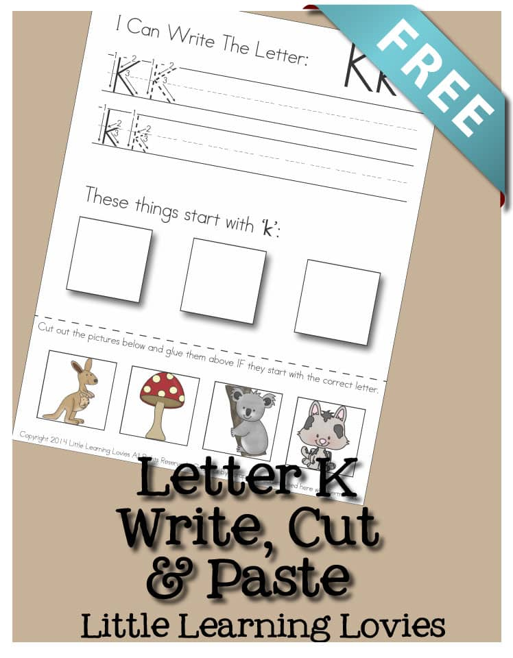 LetterK-WriteCutPaste-PINME