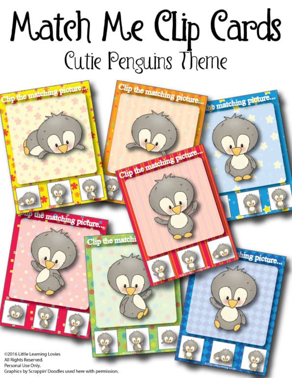 MatchMe-ClipCards-CutiePenguins-LittleLearningLovies-2016-01
