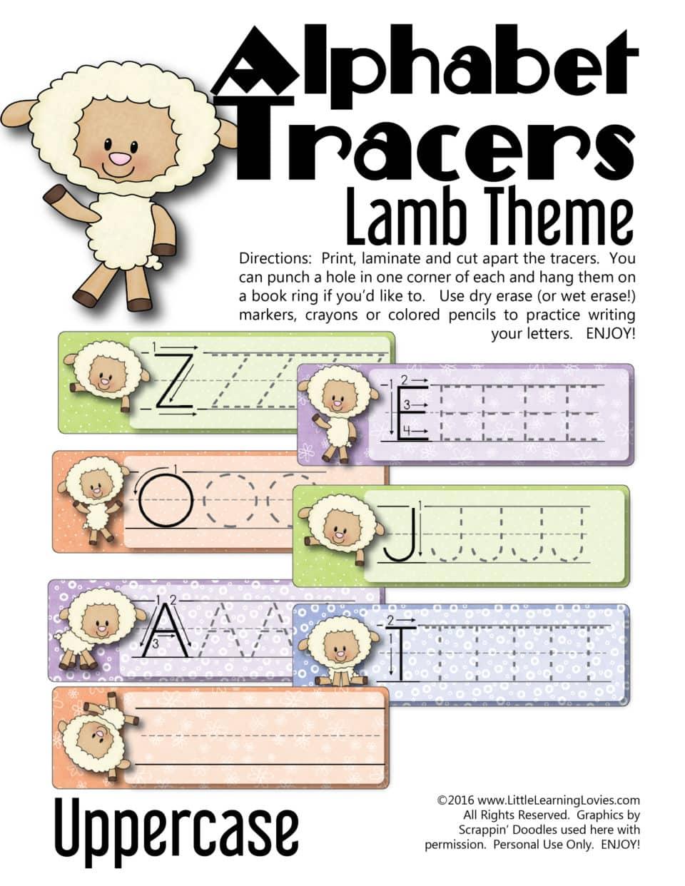 LambThemed-AlphabetTracers Uppercase-01