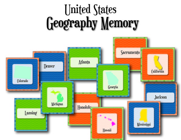 Geography Memory from Little Learning Lovies