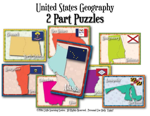 US-States-2PartPuzzles-Capital-Flag-Border_Cover