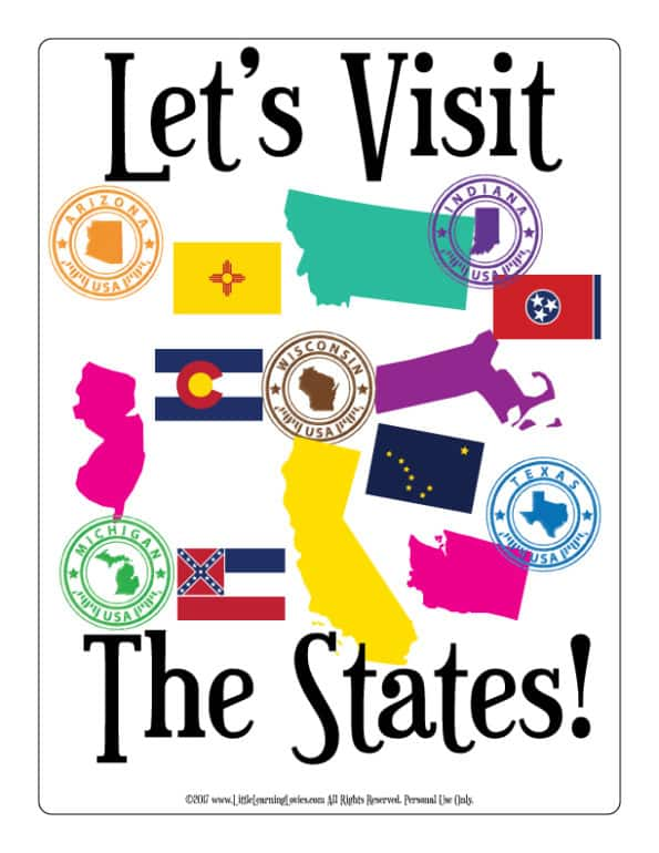 US-States-TravelPlannerAndJournal