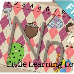 Letter N Sounds Of N Phonics and Counting puzzle FREE