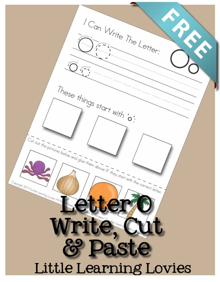 This Letter O activity is a great way to engage different learning styles at once! Cute graphics, open design, cut and paste activity make this a favorite!