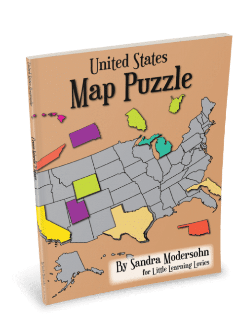 Us Geography Map Puzzle