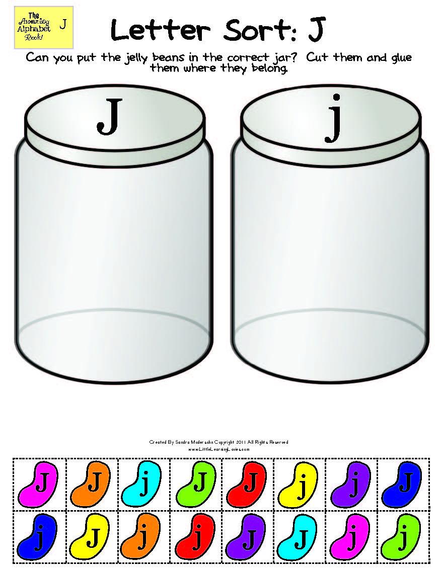 Amazing Alphabet: Letter J (3) » Little Learning Lovies