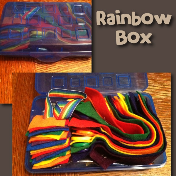 Raimbow Busy Box
