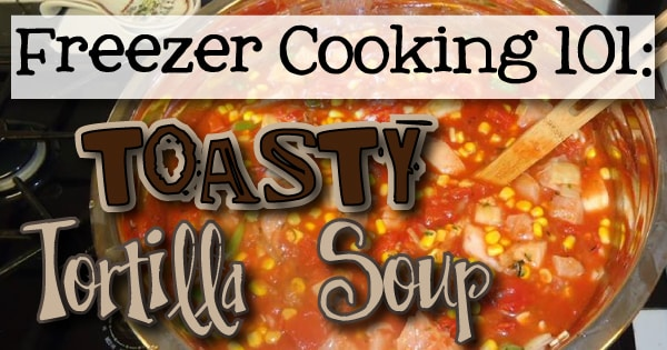 Toasty warm Tortilla Soup Recipe from Little Learning Lovies.