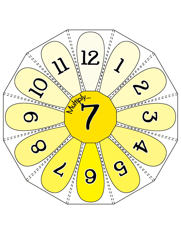 Multiplication Wheels 187 Little Learning Lovies